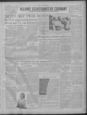 Nieuwe Schiedamsche Courant 1949-01-15