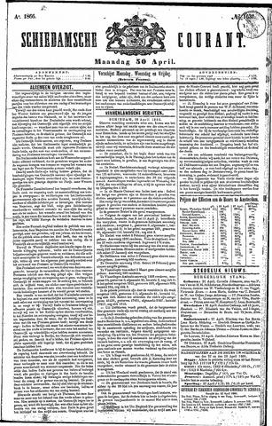 Schiedamsche Courant 1866-04-30