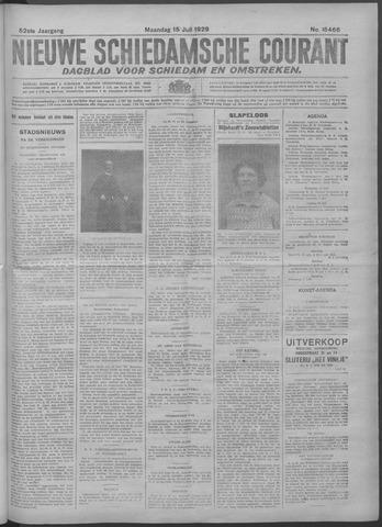 Nieuwe Schiedamsche Courant 1929-07-15
