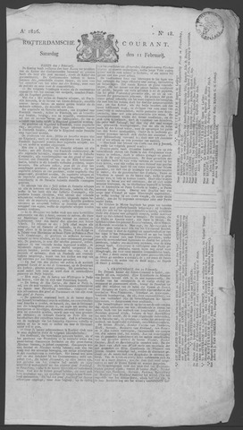 Rotterdamse Courant 1826-02-11