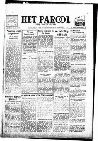 Rotterdamsch Parool / De Schiedammer 1945-07-18