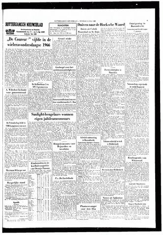 Rotterdamsch Nieuwsblad / Schiedamsche Courant / Rotterdams Dagblad / Waterweg / Algemeen Dagblad 1966-07-12