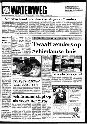 Rotterdamsch Nieuwsblad / Schiedamsche Courant / Rotterdams Dagblad / Waterweg / Algemeen Dagblad 1985-12-19
