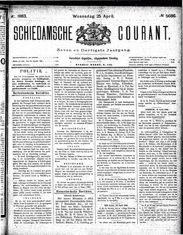Schiedamsche Courant 1883-04-25