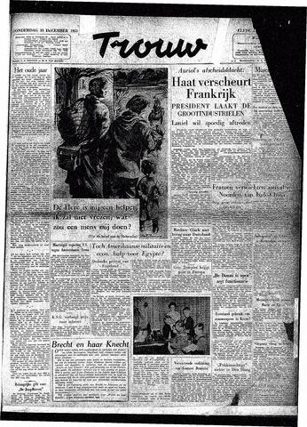 Trouw / De Rotterdammer 1953-12-31