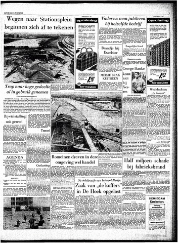 Rotterdamsch Parool / De Schiedammer 1962-07-24