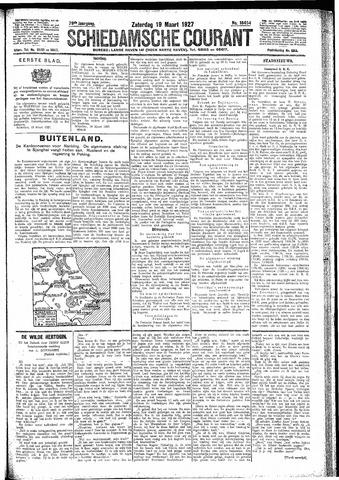 Schiedamsche Courant 1927-03-19