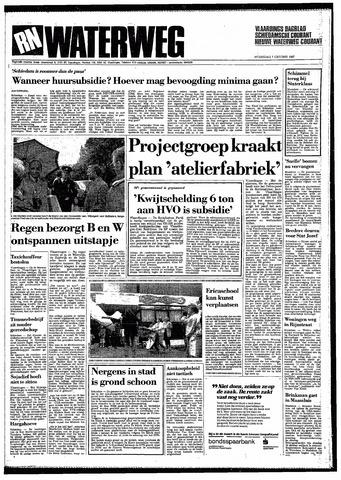 Rotterdamsch Nieuwsblad / Schiedamsche Courant / Rotterdams Dagblad / Waterweg / Algemeen Dagblad 1987-10-07