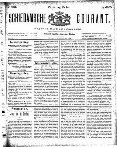 Schiedamsche Courant 1885-07-25