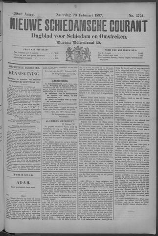 Nieuwe Schiedamsche Courant 1897-02-20