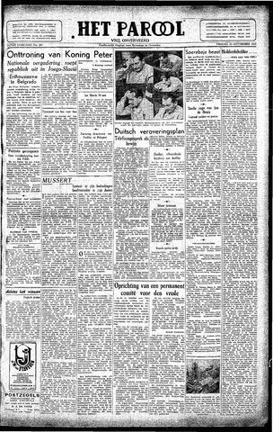 Rotterdamsch Parool / De Schiedammer 1945-11-30