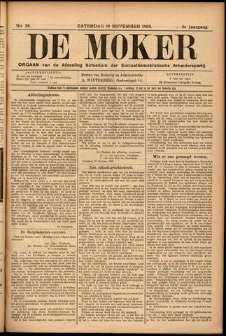De Moker 1905-11-18