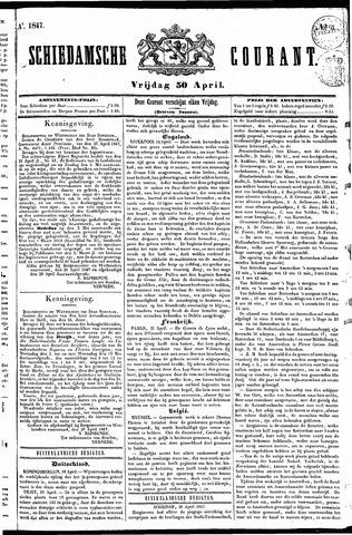 Schiedamsche Courant 1847-04-30