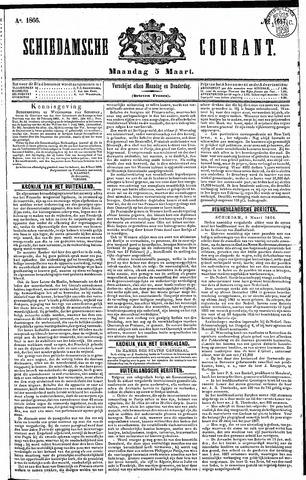 Schiedamsche Courant 1866-03-05