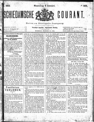 Schiedamsche Courant 1883-01-08