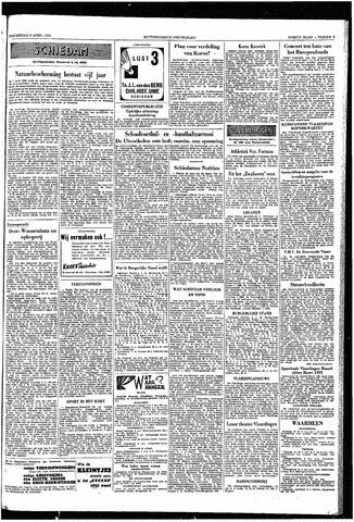 Rotterdamsch Nieuwsblad / Schiedamsche Courant / Rotterdams Dagblad / Waterweg / Algemeen Dagblad 1953-04-09