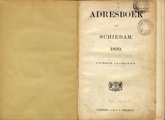 Adresboeken 1899