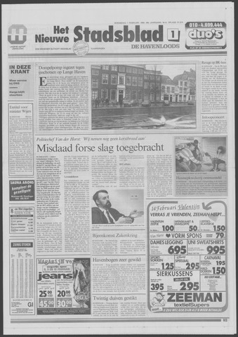 Het Nieuwe Stadsblad 1996-02-07