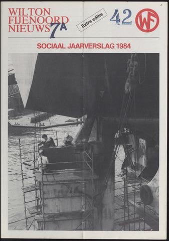 Wilton Fijenoord Nieuws 1984
