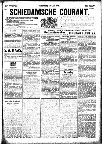 Schiedamsche Courant 1916-07-26