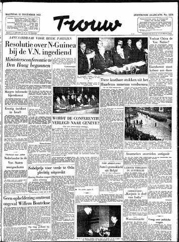 Trouw / De Rotterdammer 1955-12-12