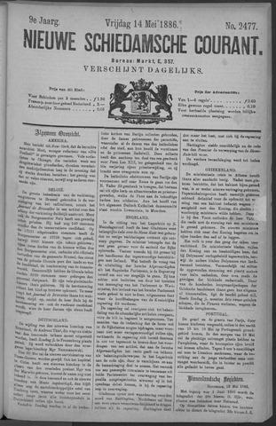 Nieuwe Schiedamsche Courant 1886-05-14