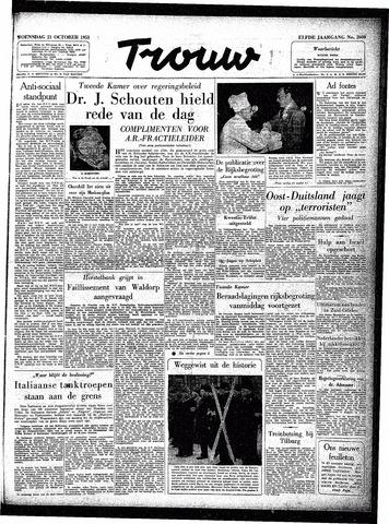 Trouw / De Rotterdammer 1953-10-21