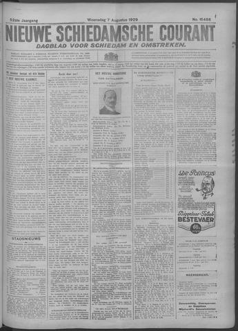 Nieuwe Schiedamsche Courant 1929-08-07