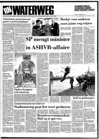 Rotterdamsch Nieuwsblad / Schiedamsche Courant / Rotterdams Dagblad / Waterweg / Algemeen Dagblad 1987-02-03