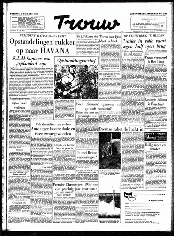 Trouw / De Rotterdammer 1959