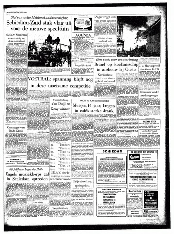 Rotterdamsch Parool / De Schiedammer 1962-05-24