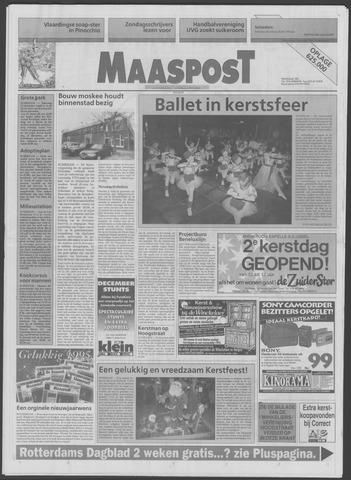 Maaspost / Maasstad / Maasstad Pers 1994-12-21