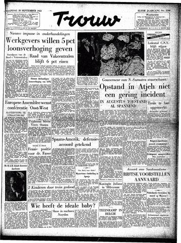 Trouw / De Rotterdammer 1953-09-28