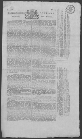 Rotterdamse Courant 1826-02-02