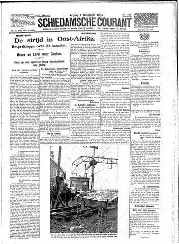 Schiedamsche Courant 1935-11-01