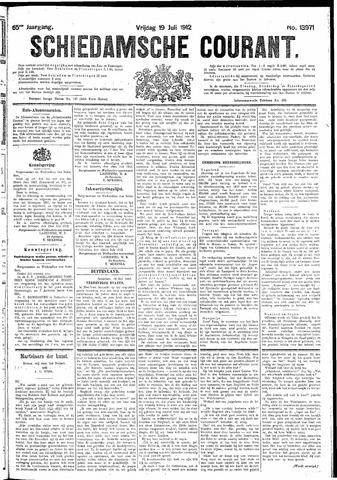 Schiedamsche Courant 1912-07-19