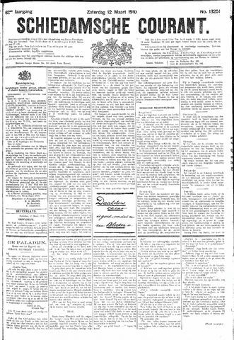 Schiedamsche Courant 1910-03-12