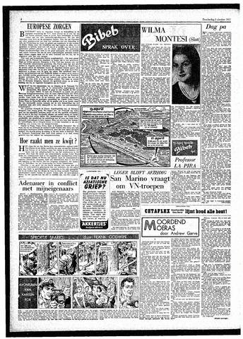 Rotterdamsch Parool / De Schiedammer 1957-10-03