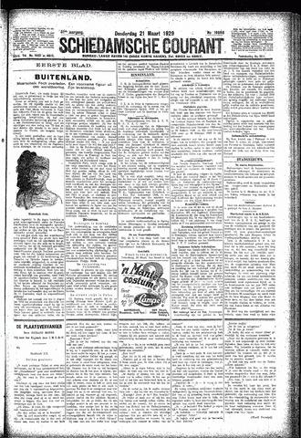 Schiedamsche Courant 1929-03-21