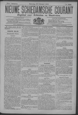 Nieuwe Schiedamsche Courant 1909-02-20