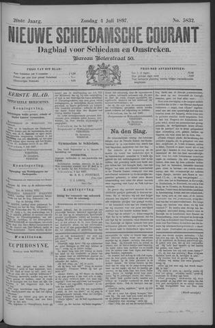 Nieuwe Schiedamsche Courant 1897-07-04