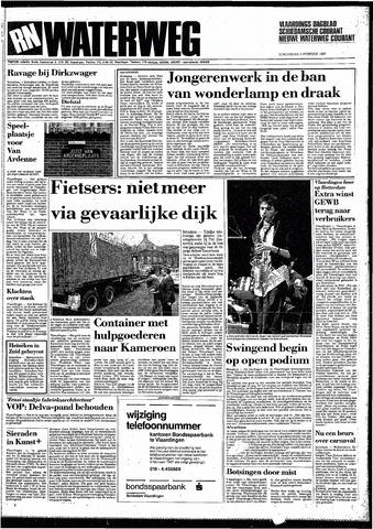 Rotterdamsch Nieuwsblad / Schiedamsche Courant / Rotterdams Dagblad / Waterweg / Algemeen Dagblad 1987-02-05