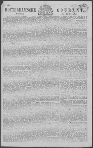 Rotterdamse Courant 1851-12-20