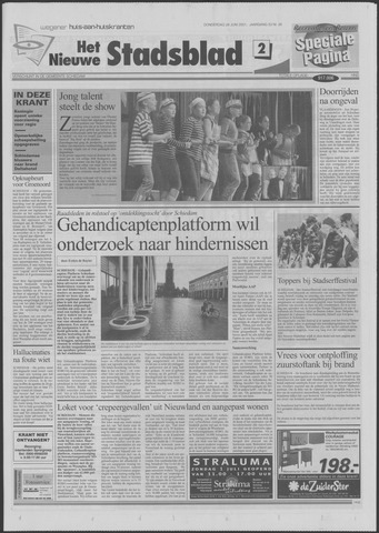 Het Nieuwe Stadsblad 2001-06-28