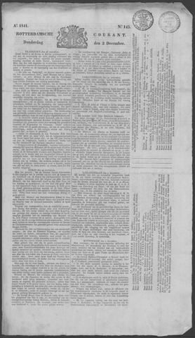 Rotterdamse Courant 1841-12-02