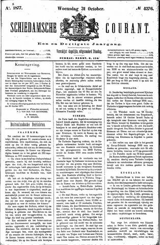 Schiedamsche Courant 1877-10-31
