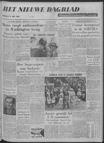 Nieuwe Schiedamsche Courant 1962-05-08