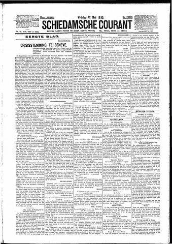Schiedamsche Courant 1933-05-12
