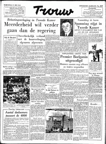 Trouw / De Rotterdammer 1955-05-11