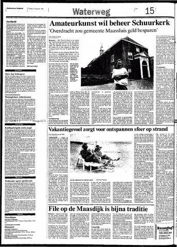 Rotterdamsch Nieuwsblad / Schiedamsche Courant / Rotterdams Dagblad / Waterweg / Algemeen Dagblad 1991-08-16
